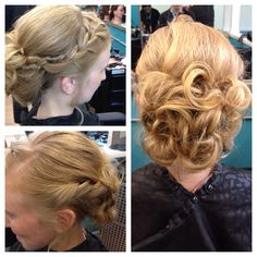 Updo for prom #promhair #updo
