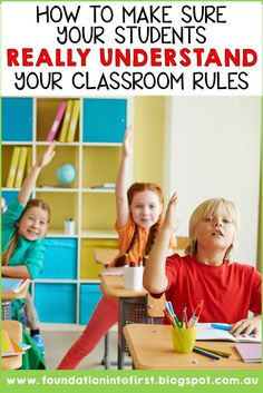How to make sure your students really understand your classroom rules - Real Time - Diet, Exercise, Fitness, Finance You for Healthy articles ideas Classroom Management Strategies, Behavior Management, Management Tips, Classroom Rules Poster, Classroom Behavior, Classroom Ideas, Teacher Blogs, Teacher Hacks, Teacher Organization