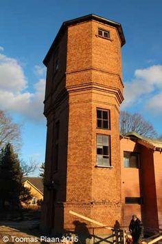 Türi water tower, Estonia