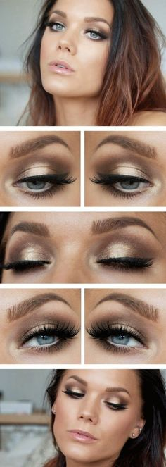 BEST MAKEUP FOR BRUNETTES