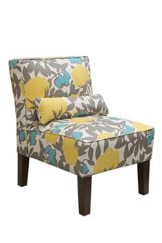 Bedroom Chair... or maybe the bench that goes with it.... perfect combo to bring a little living room color to my bedroom!