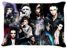 Andy Biersack pillows | BLACK VEIL BRIDES Andy Andrew Biersack Pillow Case Pillowcase Cover