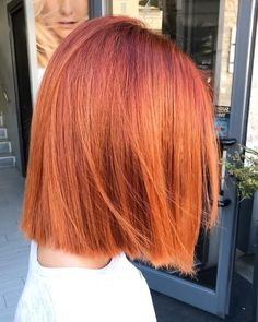 When your hair color is as fire as your crop! The vibrant undertones in this muted red look by Cardillo Parrucchieri are brought to life with our new Koleston Perfect.