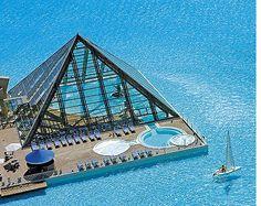 San Alfonso del Mar Resort ~ Sailing in a pool!! Amazing!