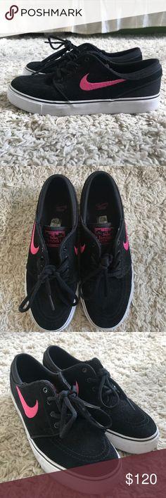 fd3fc61fbcf Stefan Janoski Nike SB Nike SB Stefan Janoski black and hot pink Nike