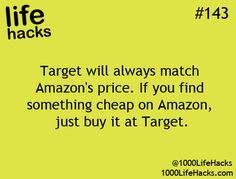 Target will always match Amazon's price.  If you find something cheap on Amazon, just buy it at Target.   If this is real that could be VERY USEFUL.