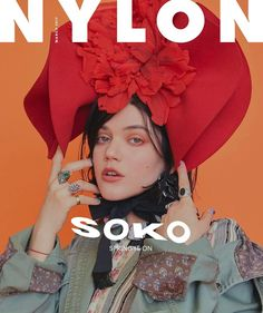 Soko wearing Marc Jacobs Spring '17. Shot by Kai Z. Feng, styled by Daniela Jung for Nylon Magazine March 2017