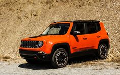 The 2015 Jeep Renegade comes with Italian engineering in its chassis due to its FCA parent company, the Fiat-Chrysler amalgam, but shows Jeep tradition in its design. High Performance Cars, Car Goals, Jeep Renegade, Jeep 4x4, Unique Cars, Cute Cars, My Ride, Fiat, Cars Motorcycles