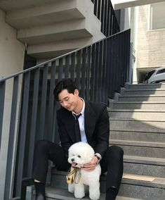park seo joon and simba 💖 Asian Actors, Korean Actors, Korean Dramas, Kang Haneul, Park Seo Joon, Park Hyung Sik, Korean Star, Kdrama Actors, Barbara Stanwyck