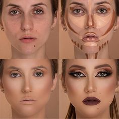 Face Make-up Face Contour Tutorial ? Each woman can do make-up however are you aware Make Up Tutorial Contouring, Contouring For Beginners, Makeup Tutorial Foundation, Makeup Tutorial Step By Step, Makeup Tutorial For Beginners, Foundation Contouring, Makeup Foundation, Make Up Ideas Step By Step, 1920s Makeup Tutorial
