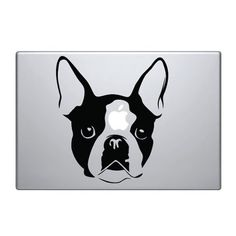 French Bulldog Face Symbol Vinyl Car Sticker Silhouette Keypad Track Pad Decal Laptop Skin Ipad Macbook Window Truck Motorcycle SSC inc. http://www.amazon.com/dp/B00LPK6GU2/ref=cm_sw_r_pi_dp_iN.Vtb0CCF0C4QX1