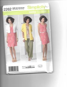 Simplicity 2262 by CraftingMoose on Etsy