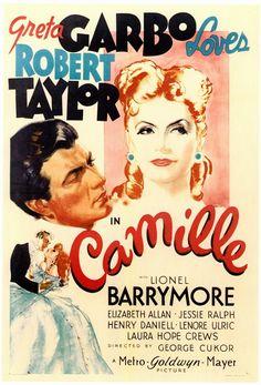 """""""Camille"""" 1936, Starring Greta Garbo & Robert Taylor."""