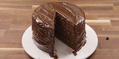 Matilda inspired chocolate cake