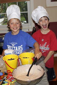 niños chefs