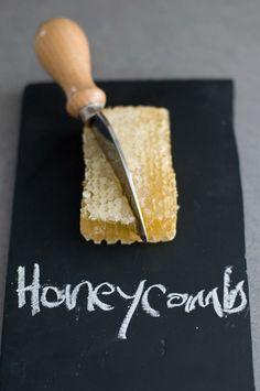 raw honey comb- Nick and I get ours from Savannah Bee Company- So delicious Raw Honey, Milk And Honey, Honey Food, Local Honey, Honey Bees, Think Food, Diy Blog, Save The Bees, Bees Knees