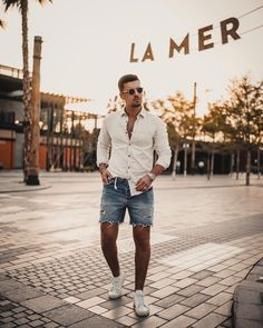 Summer Outfits Men, Hipster, Mens Fashion, Boys, Meet, Style, Photos, Men's Shirts, Hot Day Outfit