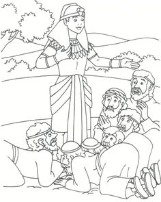joseph and his brothers coloring page | Joseph forgives his brothers coloring page - Coloring Pages ...