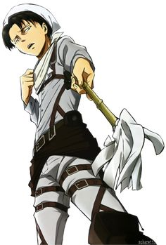 Cleaning Rivaille