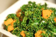 Yam kale Salad