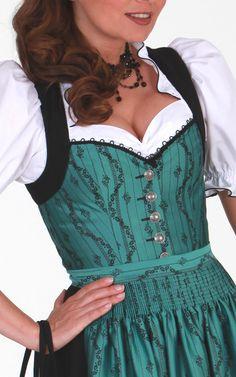 Chiemseer Dirndl & Tracht Online Shop-Blusendirndl Kronburg, ohne Schürze