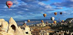 Cappadocia, Turkey - Hot-Air Balloon Ride