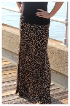 Leopard Maxi Skirt · Retail Therapy GIRLZ Boutique · Online Store Powered by Storenvy