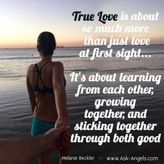 True Love is about so much more than just love at first sight... It's about…