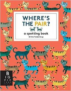 Where's the Pair?: A Spotting Book by Britta Teckentrup from . Stylish title presented in an upmarket, contemporary format. For fans of search-and-find books Good Books, Books To Read, My Books, Library Books, Rhyming Riddles, Kids Reading Books, The Odd Ones Out, Little Library, Summer Reading Lists