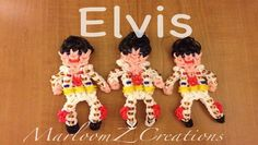 Rainbow Loom Elvis Presley (MarloomZ Creations)