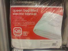 Queen electric blanket - Kmart (brand optional)