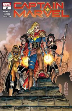 Captain Marvel Comic Issue 2 Modern Age First Print 2019 Kelly Thompson Carnero Marvel Avengers Comics, The Avengers, Ms Marvel, Marvel Comic Books, Marvel Girls, Marvel Women, Dc Comics, Kelly Thompson, Univers Marvel