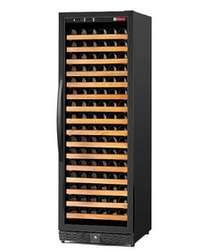 Allavino MWR-1681-BR 170 Bottle Single Zone Black Wine Cellar Refrigerator by Allavino. $1549.99. The Allavino MWR-1681-BR Single-Zone Wine Cellar Refrigerator is the most complete option for in-home wine storage on the market today. It incorporates all the most popular features in one wine cabinet, such as slide out racks on easy glide rollers, durable wood shelves that can hold up to 11 bottles each, digital temperature display and push-button controls, cool blu...