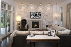 I want to build a brick wall this weekend so I can whitewash it and make my family room look exponentially cooler. :)