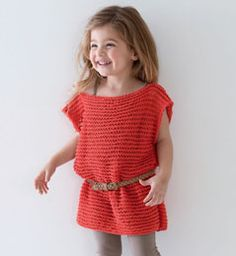 .knitted kids top.