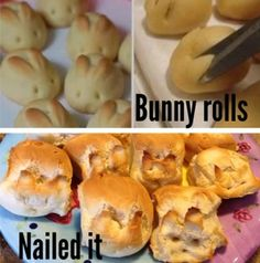 Bunny Rolls!  Hilarious Pictures of Pinterest FAILS!!!