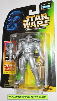 Star Wars Power of the Force 2 Expanded Universe spacetrooper Loose complet