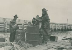 Nova Scotia Archives - Helen Creighton - Archives Ben Henneberry and his son Edmund making cod liver oil Cod Liver Oil, Cape Breton, Nova Scotia, Historical Photos, Archive, Knowledge, Island, History, Historical Pictures
