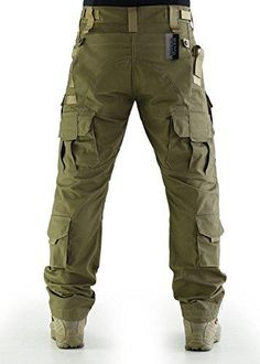 ZAPT Breathable Ripstop Fabric Pants Military Combat Multi-Pocket Molle Tactical Pants with EVA Knee Pads Mens Tactical Pants, Tactical Wear, Tactical Clothing, Combat Pants, Riding Pants, Camo Pants, Paintball, Trousers, Camping