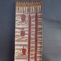 aboriginal bark painting - Google Search