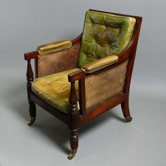 OnlineGalleries.com - A Regency Period Library Bergere