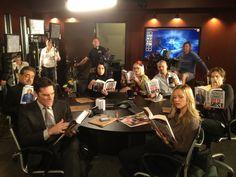 Twitter / CM_SetReport: The #CriminalMinds cast enjoys ...