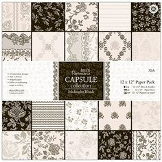 docrafts Papermania Paper Pack, 12-Inch by 12-Inch, Midnight Blush, 32-Pack DOCrafts http://www.amazon.com/dp/B00K7BVR18/ref=cm_sw_r_pi_dp_RYV1wb1C4G03W
