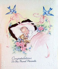 vintage baby card by jarmie52, via Flickr