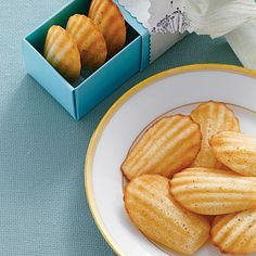 Cornbread Madeleines Food Gift from Southern Living