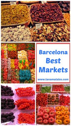Make sure you pay a visit to one of Barcelona's best markets