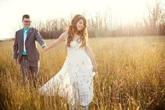 Real Weddings: Cara & Ken's Cabin Wedding On The Lake... This is pretty much the perfect wedding..