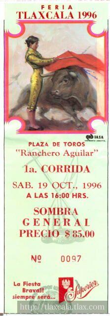Boletos de Corridas de Toros - Foto