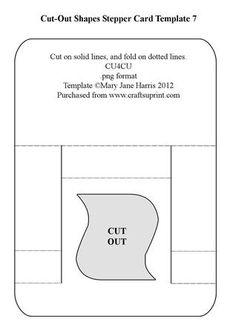 open book card template 2 handmade cards pinterest open book