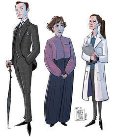 Mycroft, Mrs Hudson, Molly